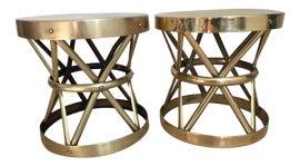 Image of Brass Stools