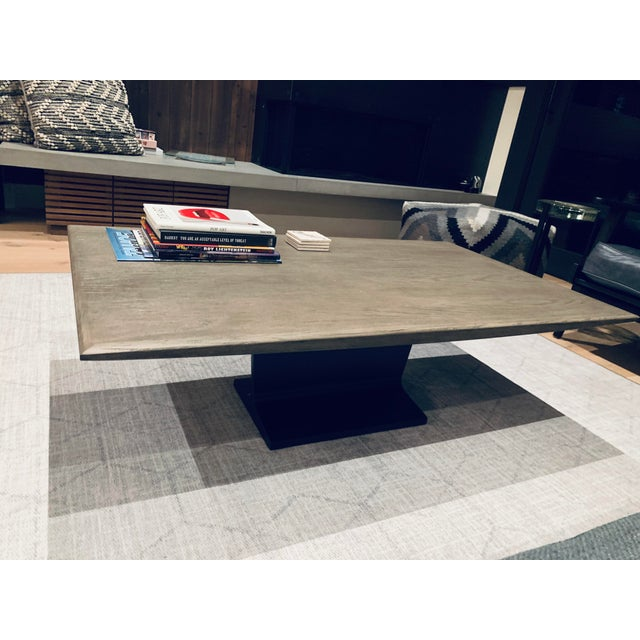Modern Restoration Hardware I-Beam Coffee Table For Sale - Image 3 of 5