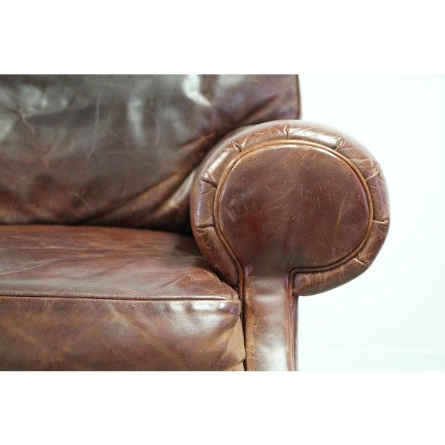 Ralph Lauren Vintage Ralph Lauren Leather Floating Sofa For Sale - Image 4 of 13