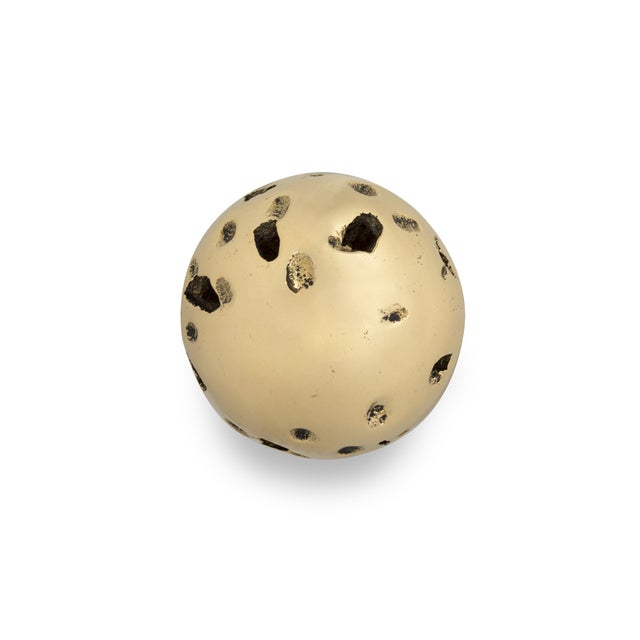 Metal Covet Paris Meteor Ea1048 Door Knob For Sale - Image 7 of 7