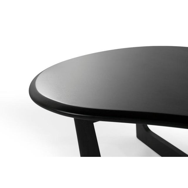 Asymmetric Mid-Century Modern Walnut Coffee Table For Sale - Image 10 of 11