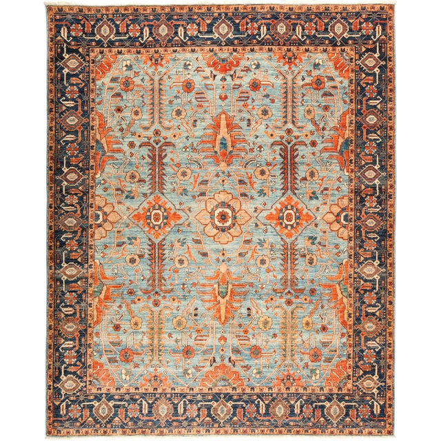 "Serapi Hand Knotted Area Rug - 8' 3"" X 10' 2"" - Image 4 of 4"