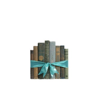 Vintage Decorative Book Gift Set: Turquoise Bloom