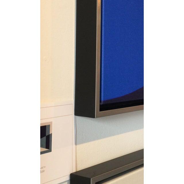 Cuadratura #04 Framed Print on Canvas by Rodrigo Martin For Sale - Image 4 of 4