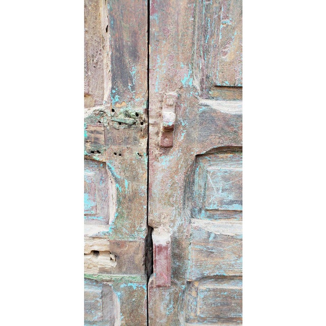 1940s Vintage Old Mok Moroccan Door For Sale In Orlando - Image 6 of 8