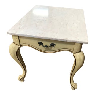1960s French Provincial Accent Table For Sale