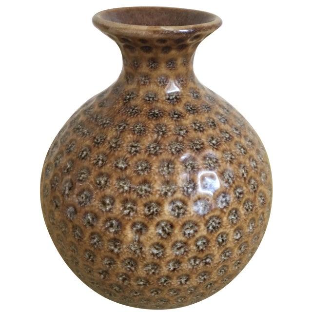 Moroccan Style Round Sienna Boho Chic Bud Vase - Image 1 of 5