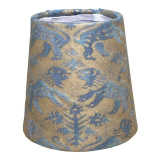 Fortuny Richelieu Chandelier Shade For Sale