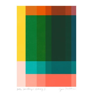 "Jessica Poundstone ""Both Something & Nothing 3"" Abstract Art Print For Sale"