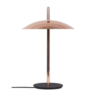 Modern Copper Signal Table Lamp For Sale