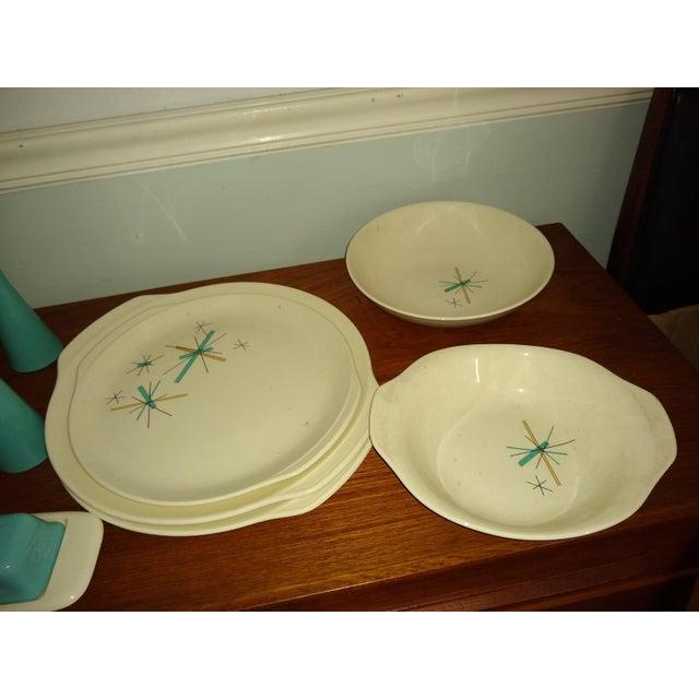 Ceramic Vintage Salem North Star Hop Scotch Dinnerware Service for 15 For Sale - Image 7 of 13
