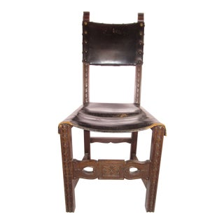 17th Century Style Spanish Side Chair For Sale