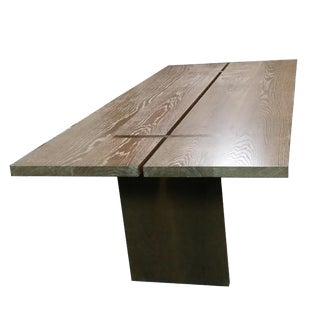"The Essentials in Wood - ""Gathering"" Table for Dining in Oak For Sale"