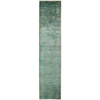 """Vibrance Hand Knotted Runner - 2'5"""" X 10'10"""""""