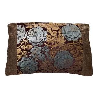 Roses Silk Velvet Pillow Cover For Sale