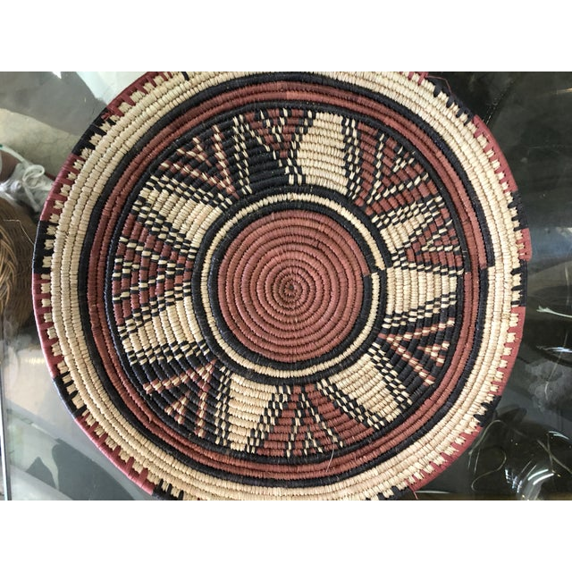 Handmade African Placemats, 7 Set For Sale - Image 4 of 6