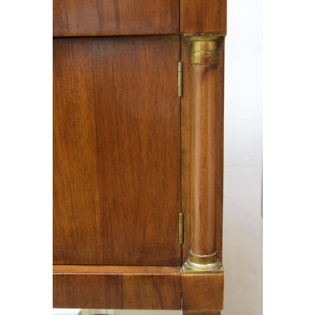 Brown Pair of Vintage Italian Nightstands For Sale - Image 8 of 10