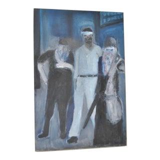 C.1996 Arthur J. Krakower Oil Painting For Sale
