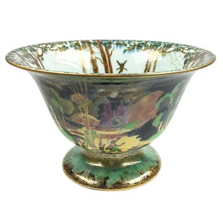 Wedgwood Art Deco Porcelain Fairyland Lustre Center Bowl For Sale