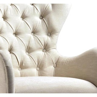 Tufted Back Arm Chair Preview