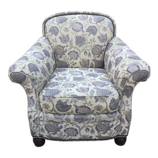 Drexel Jacobean Club Chair For Sale