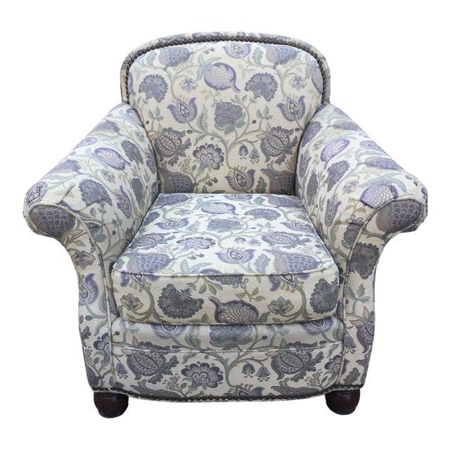 Drexel Jacobean Club Chair - Image 1 of 6