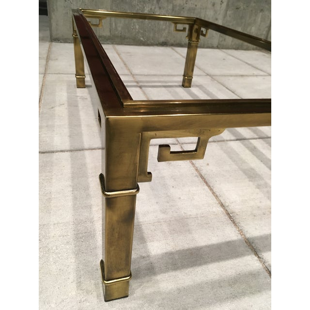 Mid-Century Greek Key Coffee Table by Mastercraft For Sale - Image 10 of 13