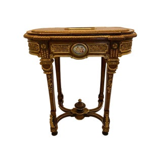 Louis XVI Jardinière Stand in the Manner of Henry Dasson For Sale