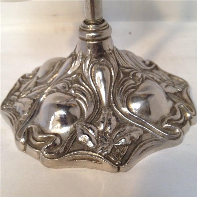 Art Nouveau Antique Shaving Stand For Sale - Image 3 of 11