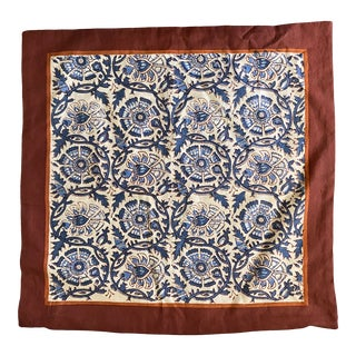 Block Printed Pakistani Pillow Cover For Sale