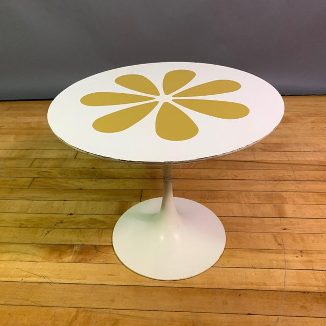 Howard McNab & Don Savage Tulip Side Table, Usa 1961 For Sale - Image 9 of 9