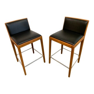 Carlotta Barstools by Andreu World, a Pair For Sale