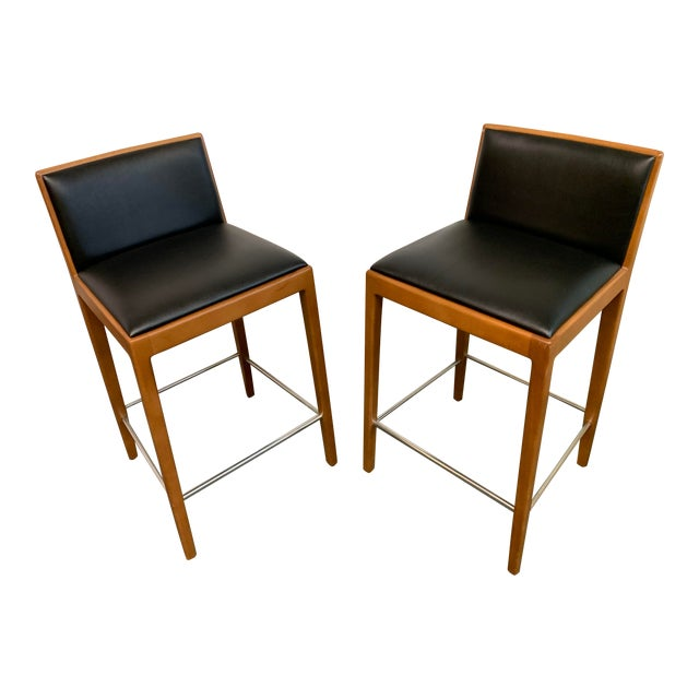 Prime Carlotta Barstools By Andreu World A Pair Evergreenethics Interior Chair Design Evergreenethicsorg