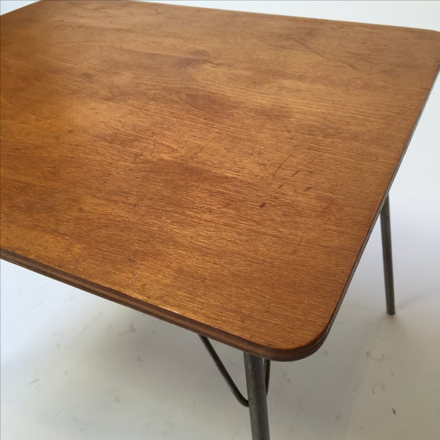 Vintage Eames IT-1 Child Size Folding Table For Sale - Image 10 of 11