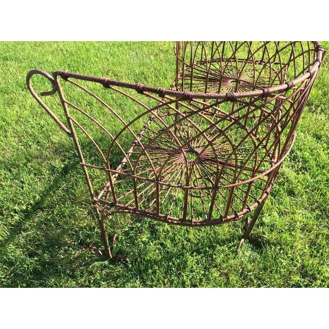Iron Vintage Iron Garden Tete-A-Tete For Sale - Image 7 of 9