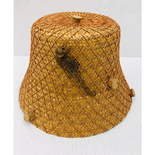 Vintage 1940's Italian Hat For Sale - Image 10 of 10
