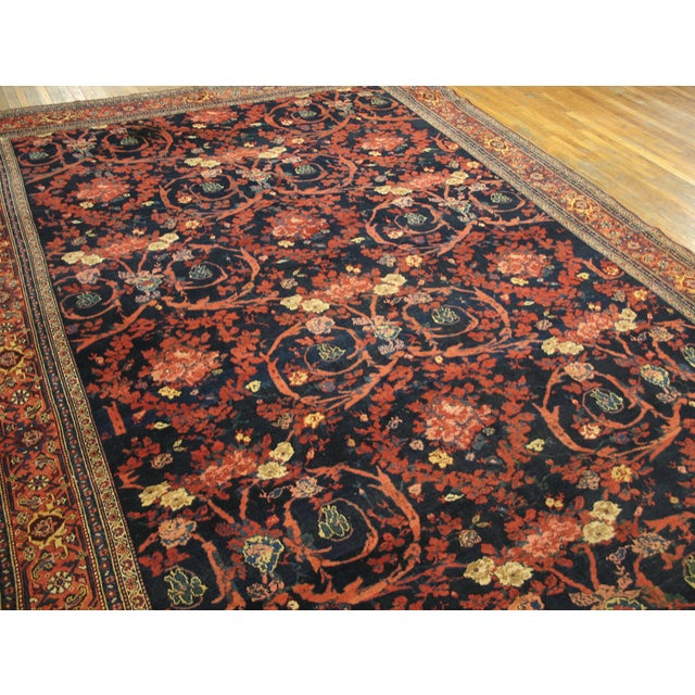 """Antique Bijar Persian Rug 9'3"""" X 20'3"""" For Sale In New York - Image 6 of 7"""