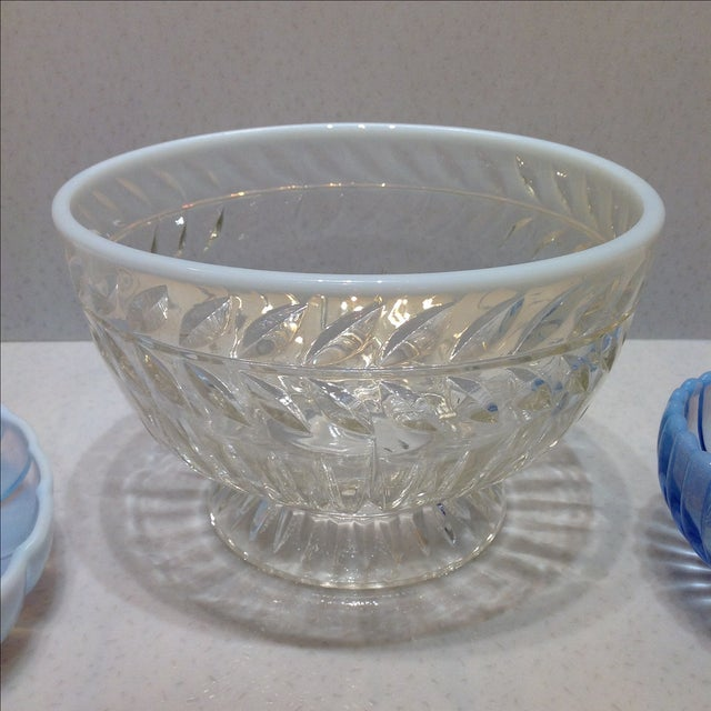Fenton French Opalescent Glass Bowls - Set of 3 - Image 3 of 7
