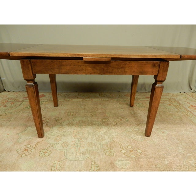 Late 19th Century Italian Walnut Farm Table For Sale - Image 5 of 6