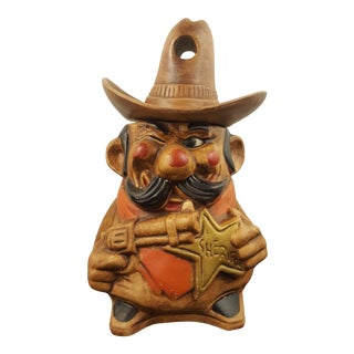 California Originals Winking Sheriff Cookie Jar For Sale