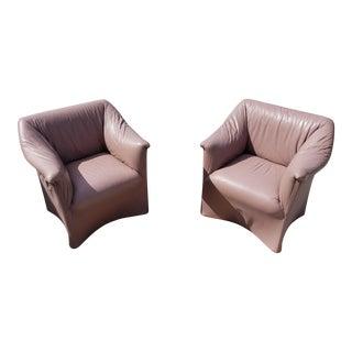 Mario Bellini Tentazione Armchairs - a Pair For Sale