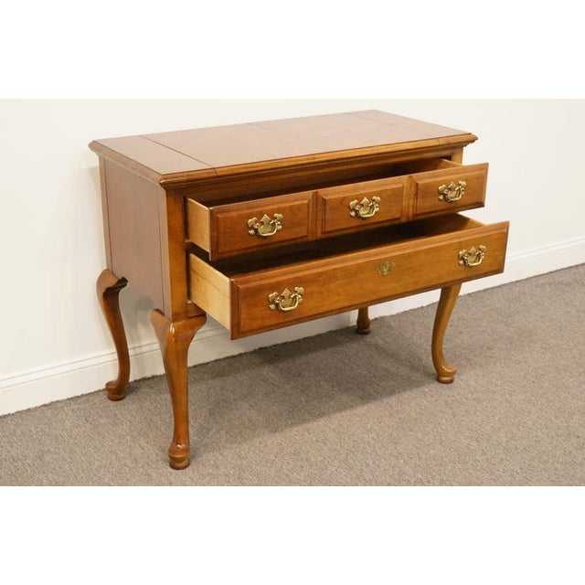 """Brown Dixie Court Collection Cherry 40"""" Flip-Top Server Buffet 120-862 For Sale - Image 8 of 13"""
