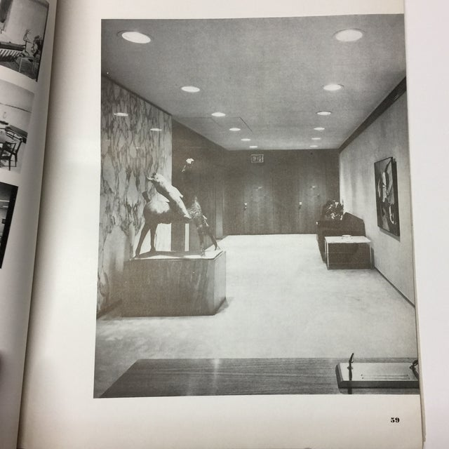 Paper 1950s Vintage Interiors Architecture Magazine For Sale - Image 7 of 12