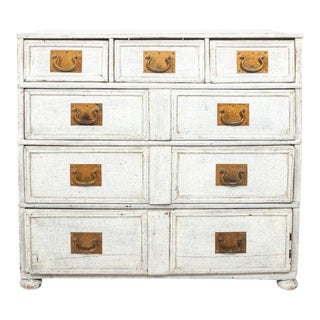 1890s Painted French Commode For Sale