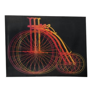 Silkscreen Print Tricycles For Sale