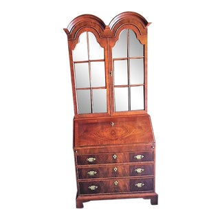 Queen Anne Mahogany Secretary