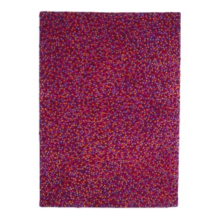 Nanimarquina Topissimo Hand Tufted Multi Red Rug 170X240 -DISCONTINUED For Sale