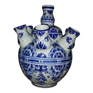Delft Tulip Vase 1900 Holland