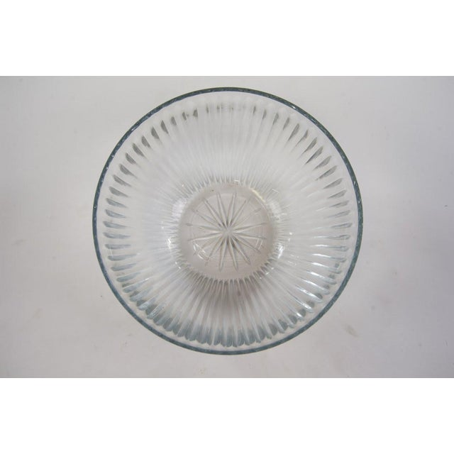 Contemporary Cut Glass Bowl - Image 2 of 5