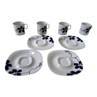 Mid-Century China Langenthal Cups & Saucers